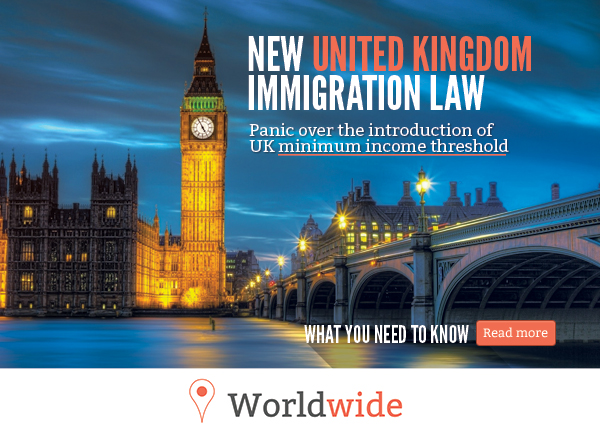 Panic over the introduction of UK minimum income threshold
