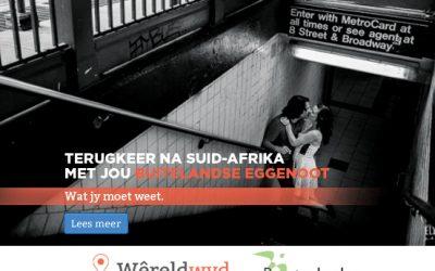 Terugkeer na Suid-Afrika met jou buitelandse eggenoot