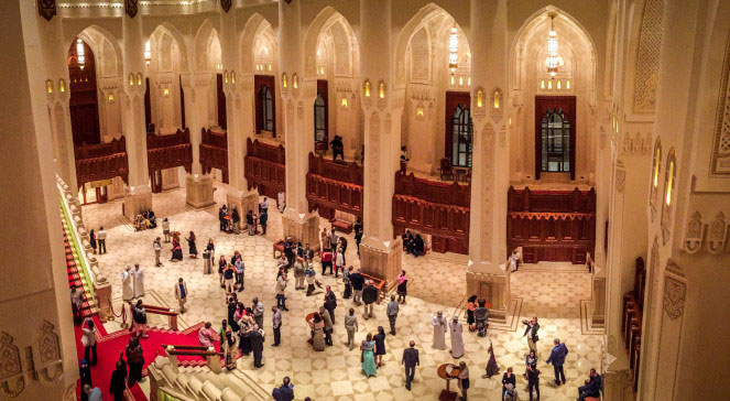 Royal Opera House, Muscat, Oman – Phillip Grobler