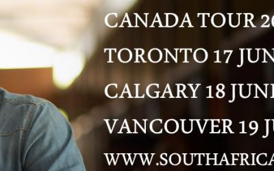 Steve Hofmeyr in Kanada