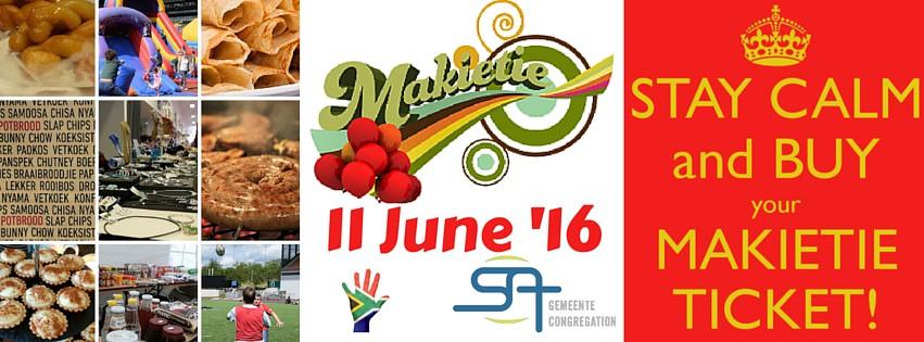 Makietie 2016 – SA Congregation