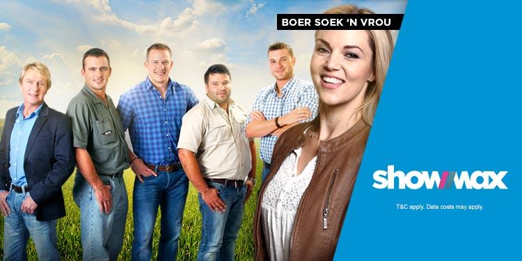 See the best of Boer soek 'n Vrou on ShowMax!