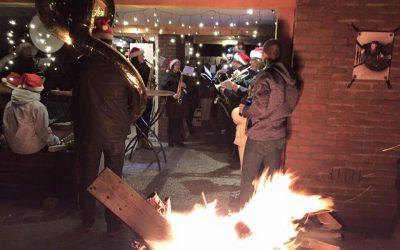 Kersfees in Limburg, Nederland: Die Kerstnachtrondgang