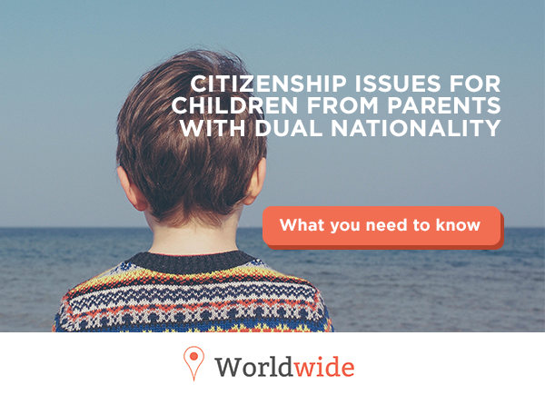 Citizenship issues for children from parents with dual nationality