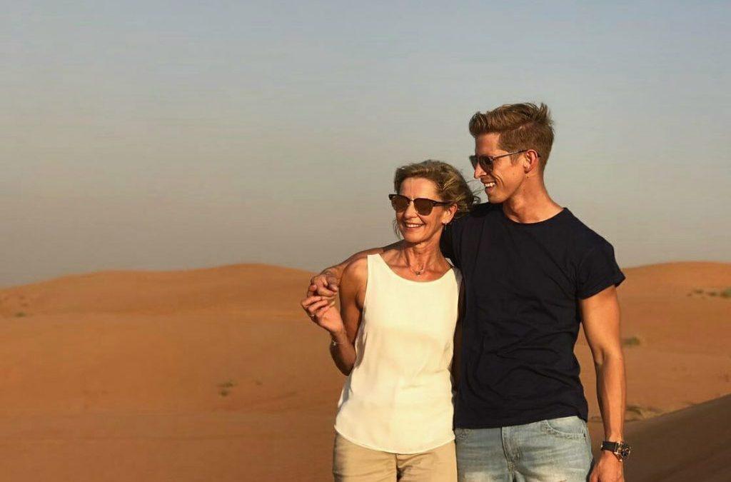 Mooi herinneringe uit Dubai – Willem Botha