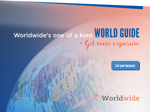 Worldwide's one of a kind world guide