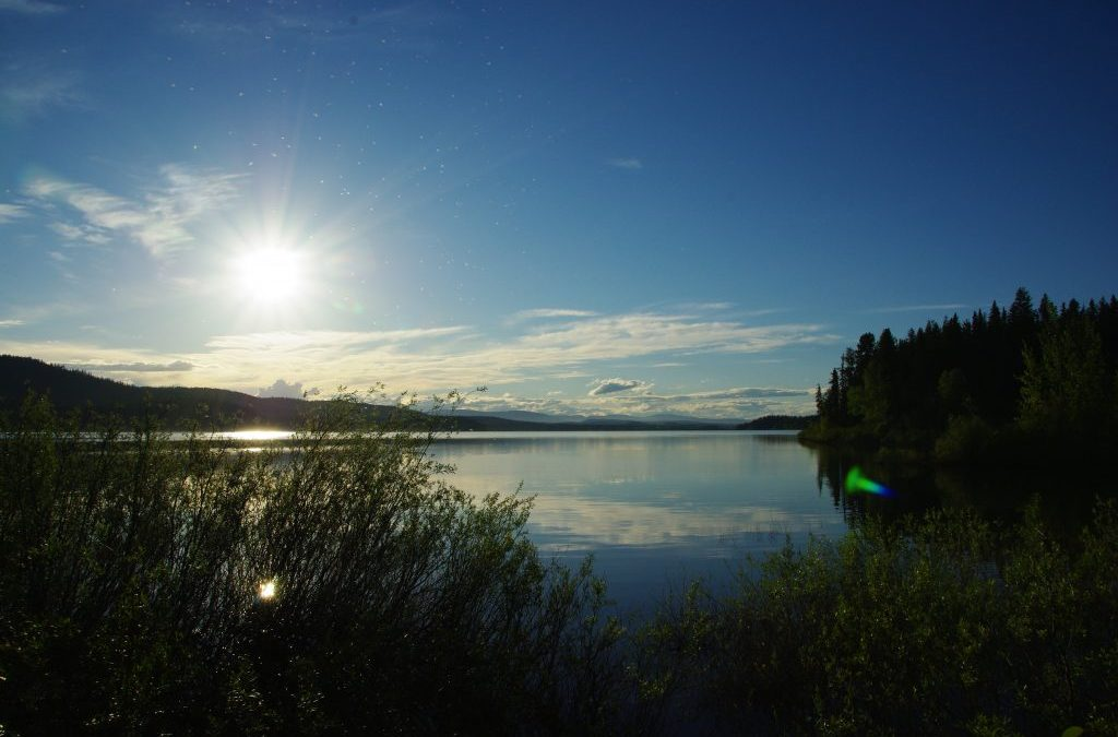 Camping adventures in Canada