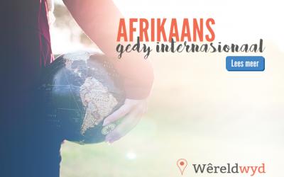 Afrikaans gedy internasionaal