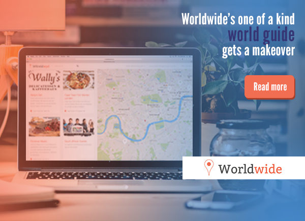 Worldwide's one of a kind world guide gets a makeover