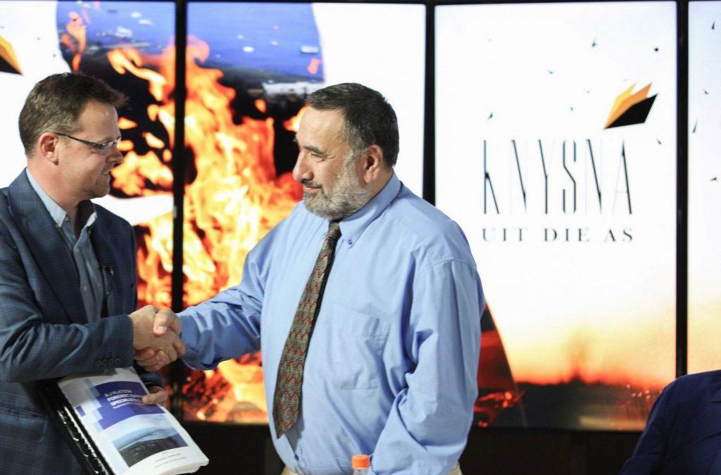 AfriForum, Dr David Klatzow announce origin of Knysna fires