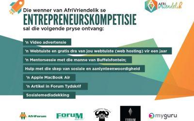AfriVriendelik Entrepreneur van die Jaar