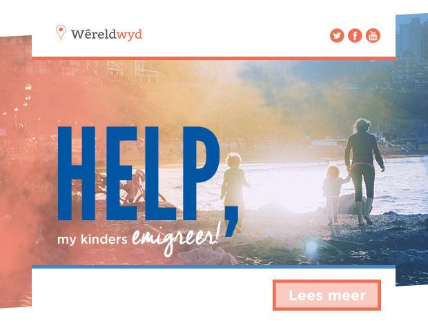 Help, my kinders emigreer!
