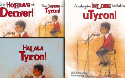 Gratis kinderboek teen geweld in vier Suid-Afrikaanse tale!