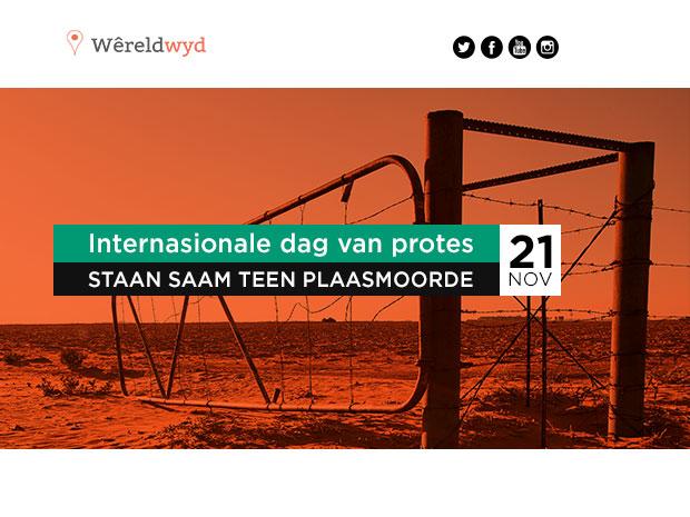 Internasionale dag van protes