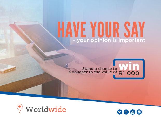 Worldwide survey