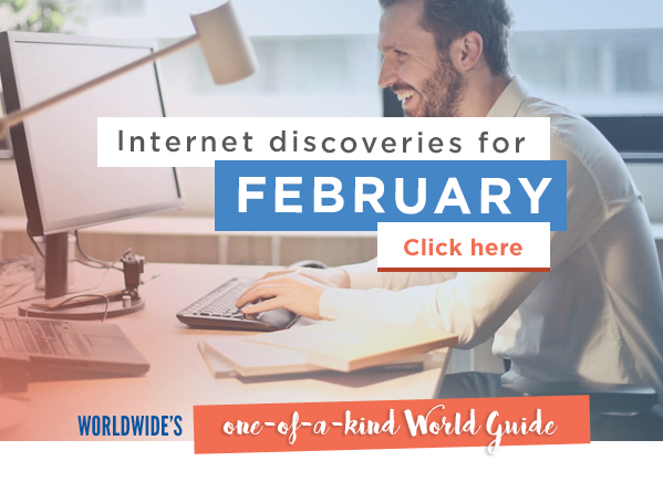 Internet discoveries of February