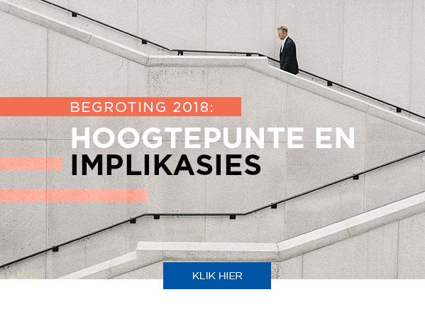 Nuusflits: Begroting 2018