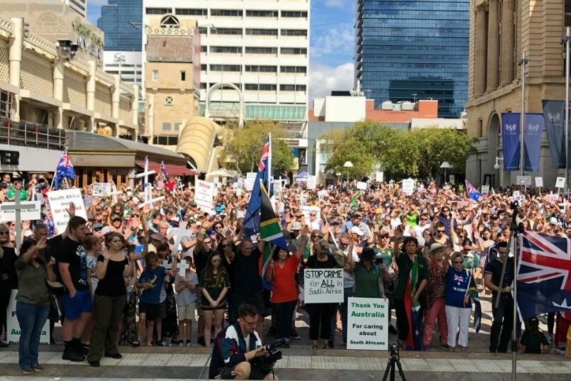 Optog vir Suid-Afrika in Perth