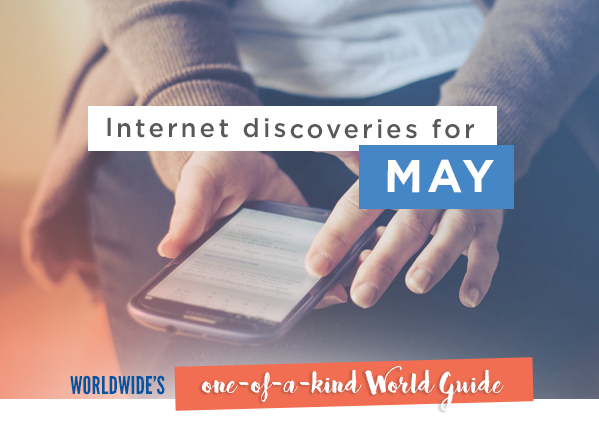 Internet discoveries for May