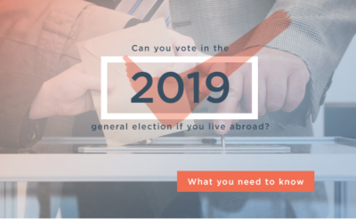 Can you vote in the 2019 general election if you live abroad?