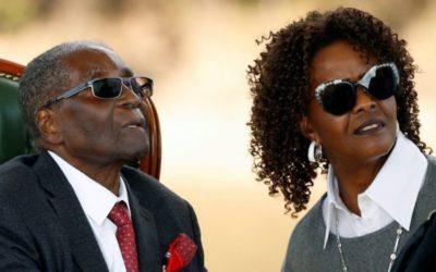 Grace Mugabe se diplomatieke immuniteit ter syde gestel