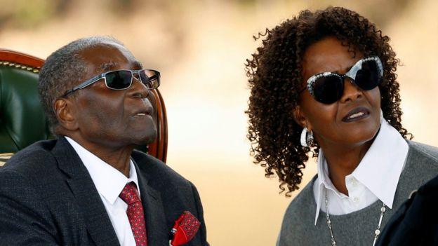 Grace Mugabe's diplomatic immunity set aside