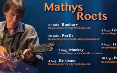 Mathys Roets in Australia and New-Zealand