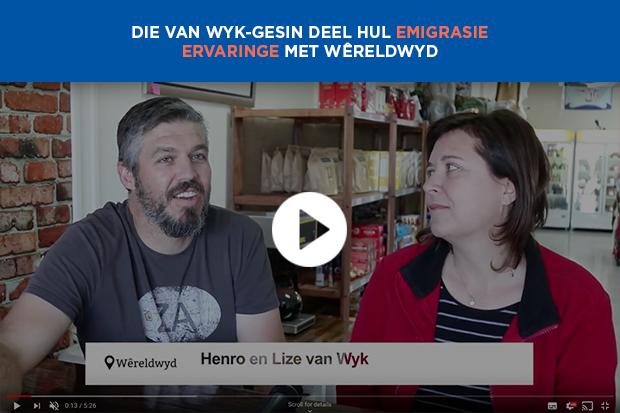 Die Van Wyk-gesin deel hul emigrasie ervaringe met Wêreldwyd