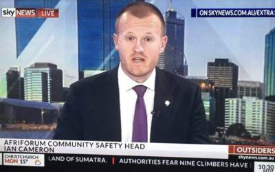 AfriForum verskerp internasionale veldtog; praat in Australië oor plaasmoorde
