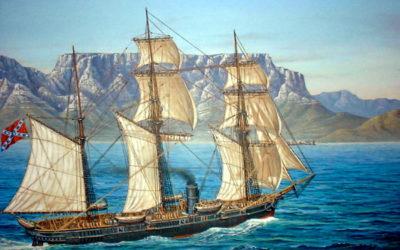 Julie tot Augustus 1863 – Die Alabama kom in Kaapse waters aan.