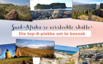 Suid-Afrika se versteekte skatte: Die top-8-plekke om te besoek