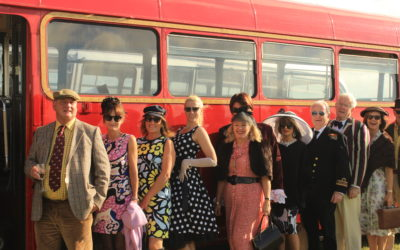 Famous Goodwood's colourful Revival