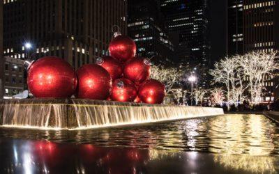 Kersfees in New York