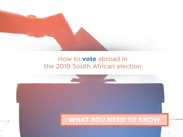 How to vote abroad in the 2019 South African election