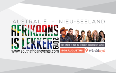 Afrikaans is Lekker 2019: Australia – New Zealand