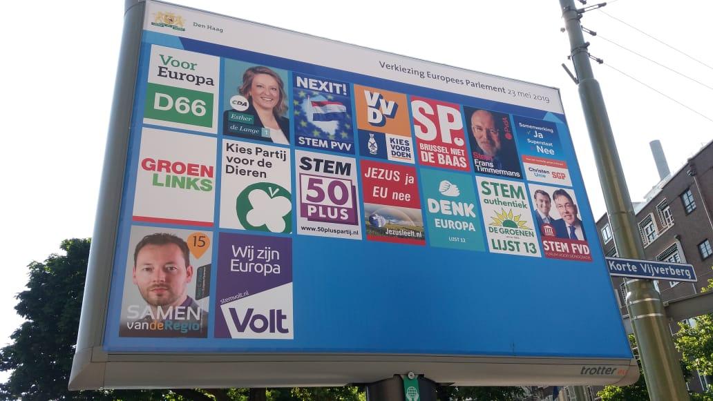 """""""Verkiesingsaand"""" in Den Haag"""