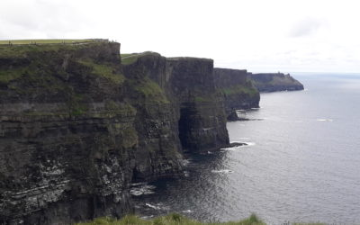 The picturesque Cliffs of Moher