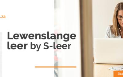 S-leer: Moderne lewenslange leer in Afrikaans