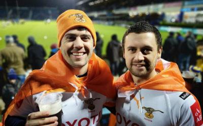 Klub in die Kollig: Cheetah Rugby Ireland Fan Club