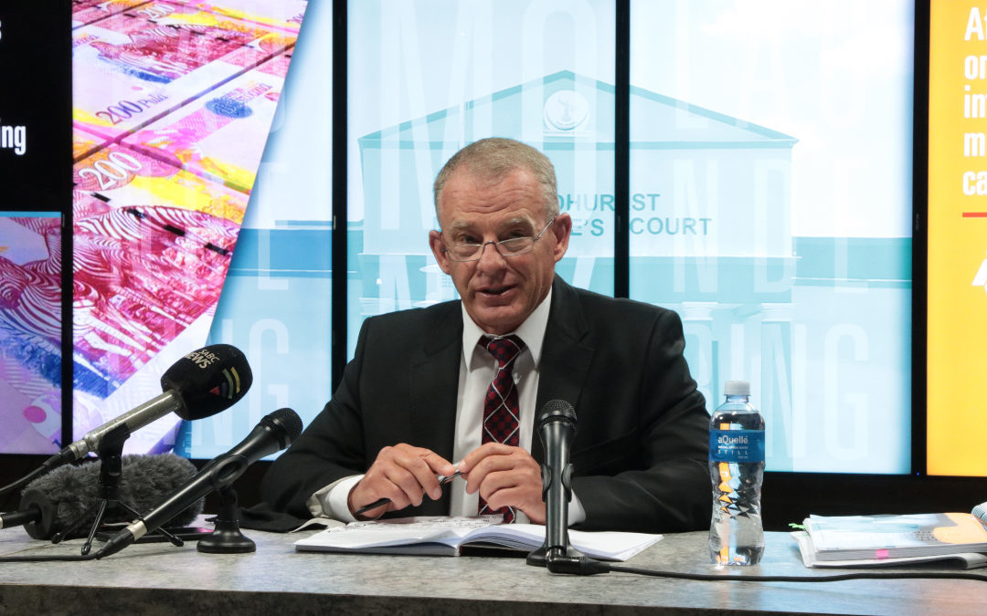 AFRIFORUM, ADV. GERRIE NEL REPRESENT BOTSWANA GOVERNMENT IN MONEY-LAUNDERING AND FRAUD CASE