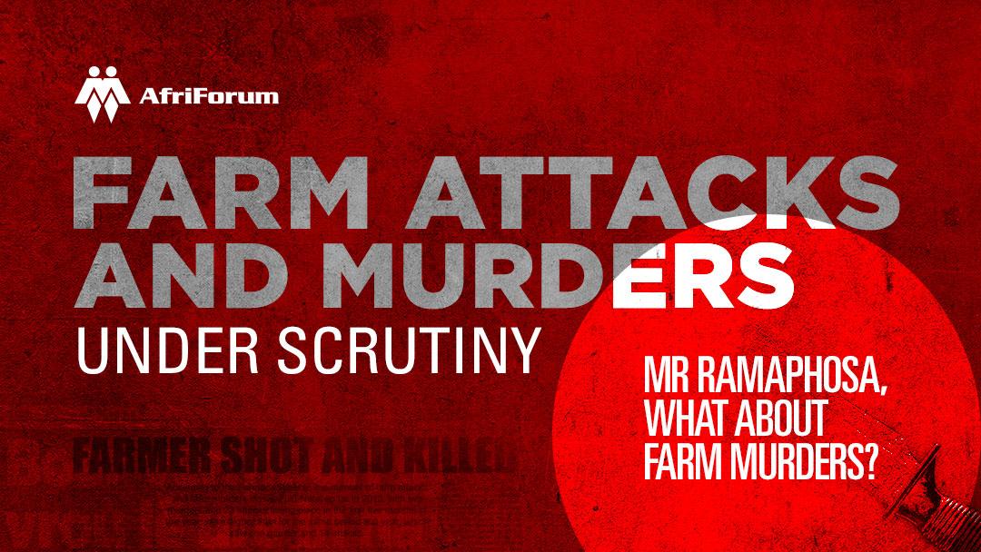 AfriForum announces intensified campaign against farm murders; demands action from Ramaphosa