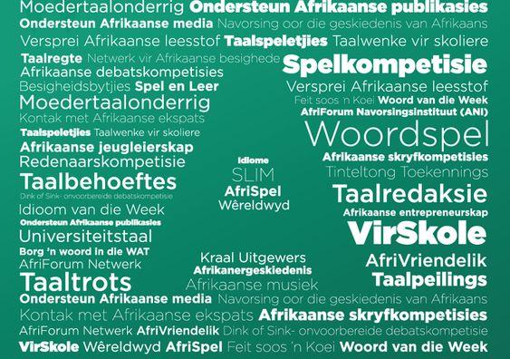 Unieke Afrikaanse woorde en hul herkoms